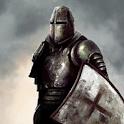 3D Knight Fighting Templar icon