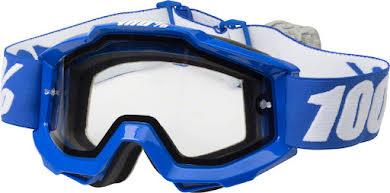 100% Accuri Enduro Goggle: Dual Pane Vented Clear Lens