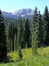 Photo: View of North Truchas Peak