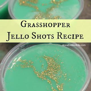 Grasshopper Jello Shots