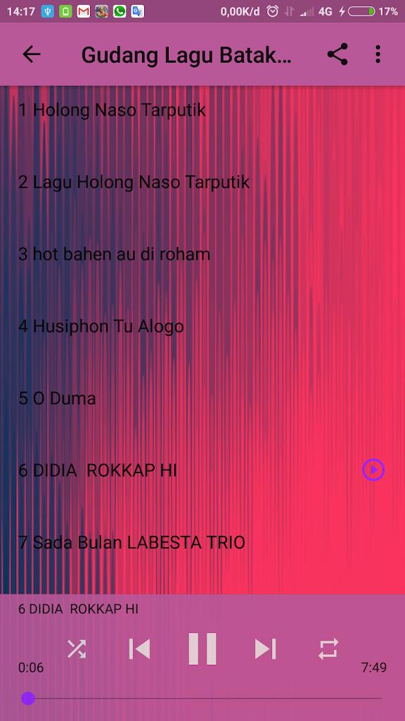 Holong Naso Tarputik : holong, tarputik, Gudang, Android, Descargar