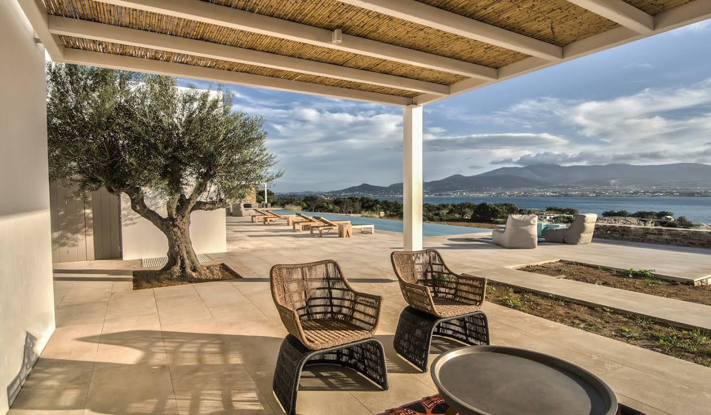 Villa avec piscine en bord de mer Antiparos