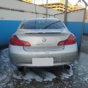 スカイライン V36 type Pの洗車のカスタム事例画像 としさんの2019年01月21日17:13の投稿