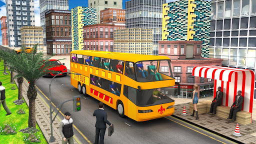 City Traffic Racer: Extreme Bus Driving games 1.0.1 screenshots 1