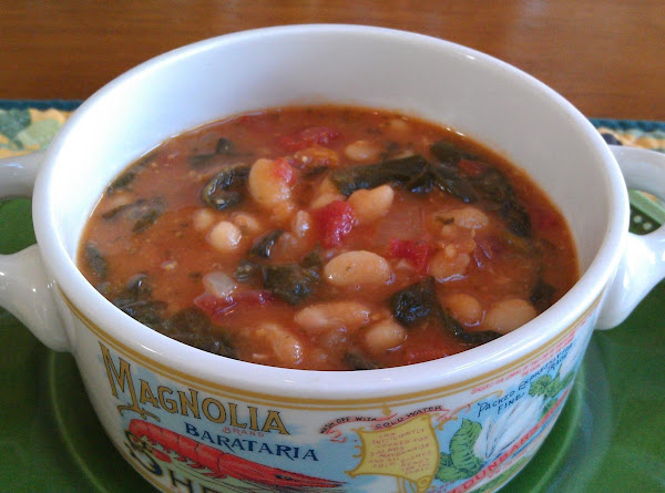 Spinach And White Bean Soup Recipe