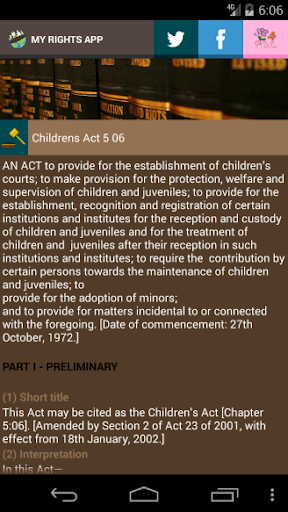 Zimbabwe Laws App  screenshots 5