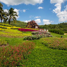 Royal Park, Chiang Mai by Gurung Purna - Buildings & Architecture Places of Worship ( royal park, thailand, chiang mai )