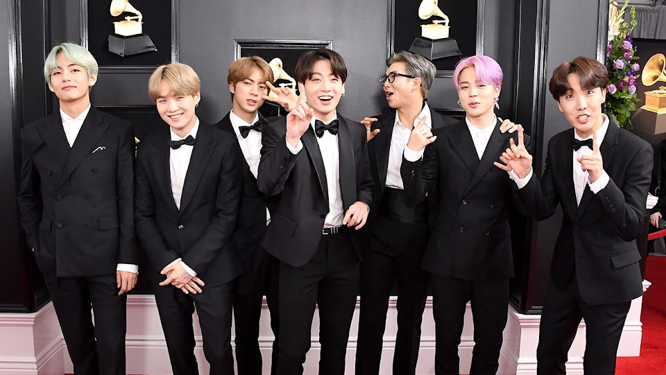 BTS GRAMMY Awards