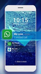 OS10 lock screen - náhled