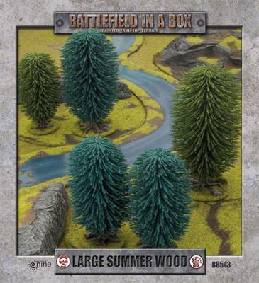 Large Summer Wood (x1) - 30mm