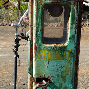 Out of gas ? by Philippe Smith-Smith - Artistic Objects Still Life ( car, gas, still life, pump, transportation )