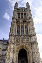 Photo: Monarch's Entrance at Parliament