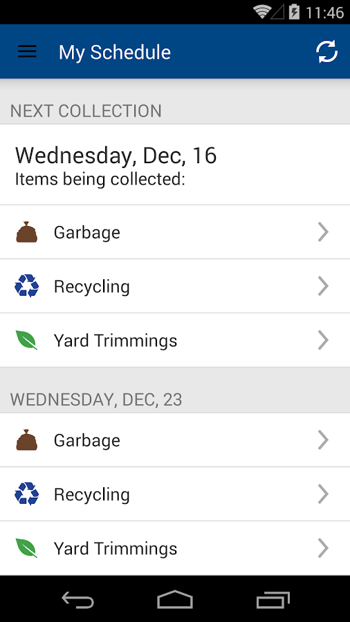 Fort Worth Garbage & Recycling- screenshot