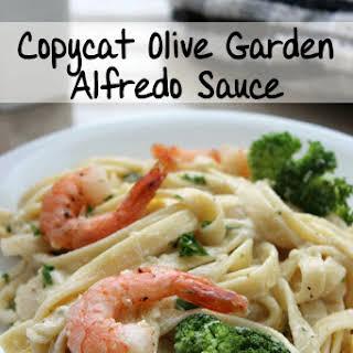Copycat Olive Garden Alfredo Sauce.