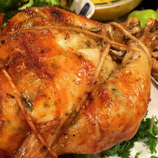 Garlic Parmesan Rotisserie Chicken