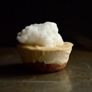 Vegan Mini Fluffernutter Cheesecakes