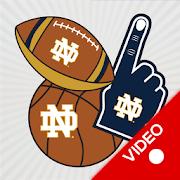 Notre Dame Fighting Irish Animated Selfie Stickers
