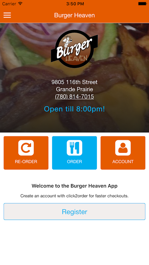 Burger Heaven Grande Prairie- screenshot