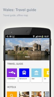 Wales: Offline travel guide - náhled