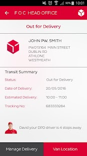 DPD Ireland- screenshot thumbnail