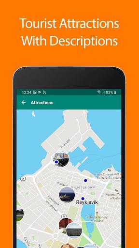 Download Reykjavik Offline Map and Travel Guide 1.35 1