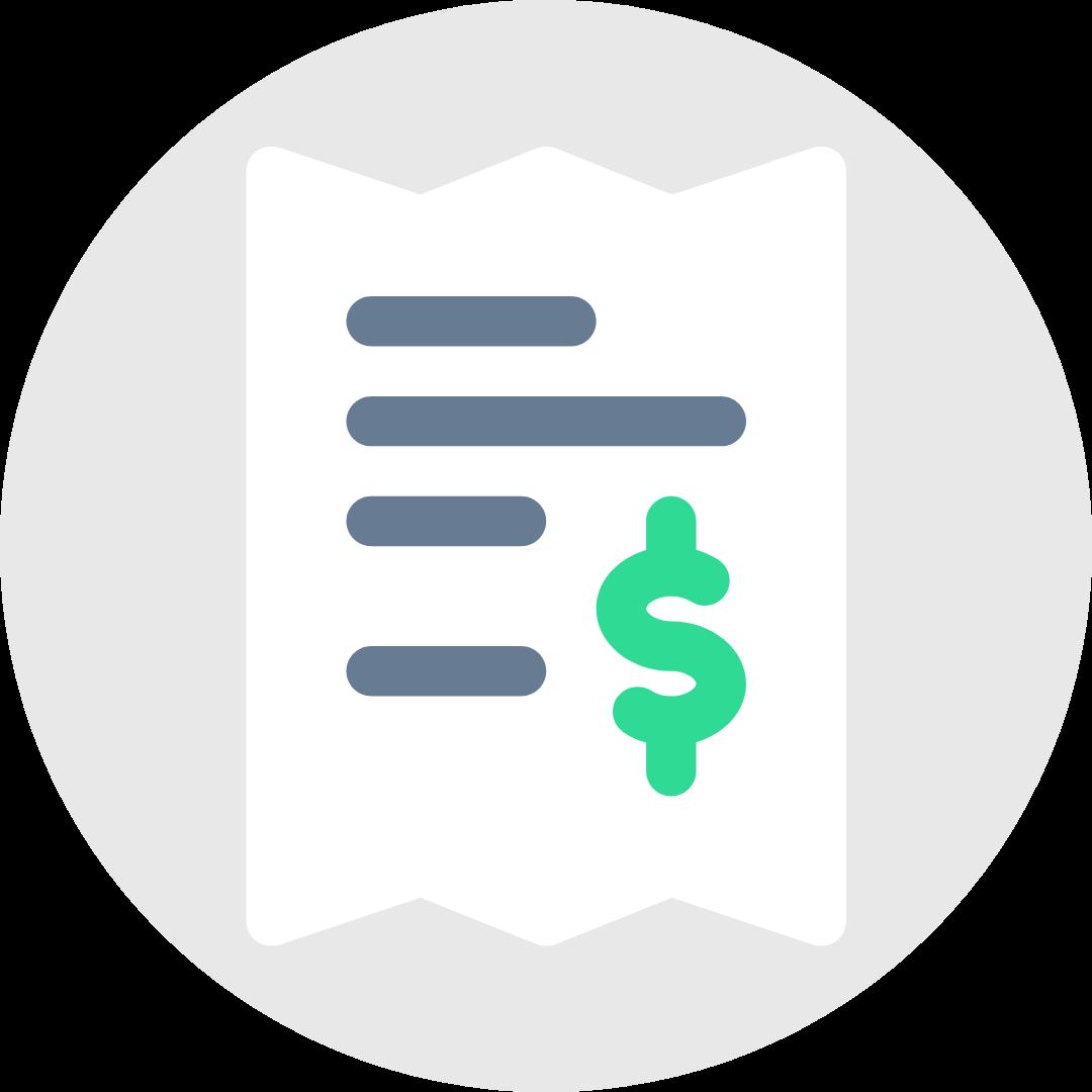 Billing settings icon