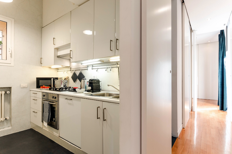Fully equipped kitchen at Colosseo View