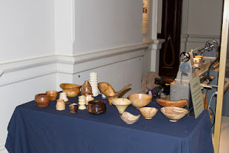 Photo: Some of Mike Colella & Tim Aley's work for a hands on display.