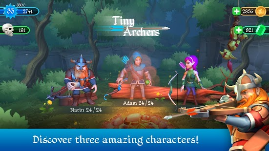 Tiny Archers- screenshot thumbnail