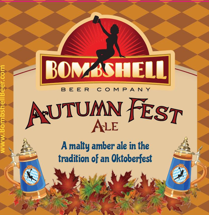 Logo of Bombshell Autumn Fest Ale