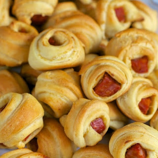 Andouille Pig in a Blanket.