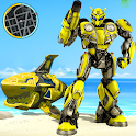 Wild Robot Shark Attack - Transforming Shark Robot icon