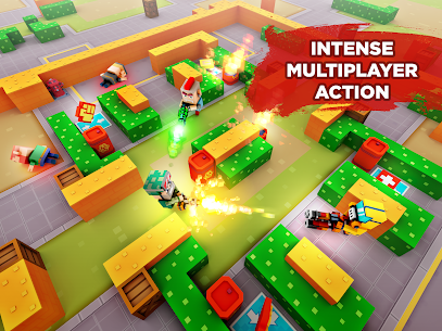Pixel Arena Online Multiplayer Blocky Shooter 1.20.0 MOD (Unlimited Coins/Crystals) Apk 9
