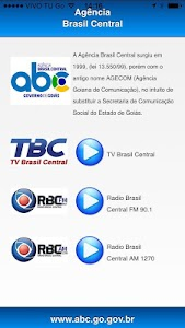 Agência Brasil Central screenshot 0