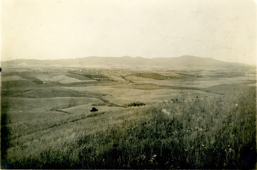 A distant view of Moscow, Idaho