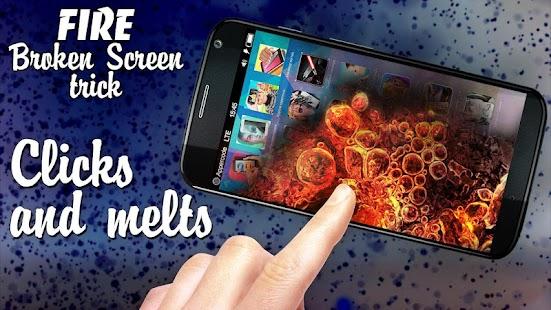 Oheň trik Broken Screen - náhled
