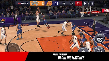 NBA LIVE Mobile Basketball APK screenshot thumbnail 4