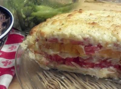 Rockabilly Housewife's Fresh Tomato Pie Recipe
