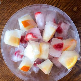 Fruit Ice Cubes Recipe