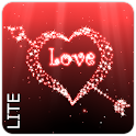 Hearts Live Wallpaper lite icon