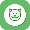 Vet and groom service icon