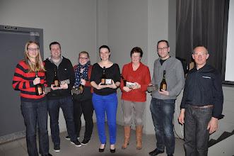 Photo: Bruudruuster de winnaars voor de 5 de maal op rij.
