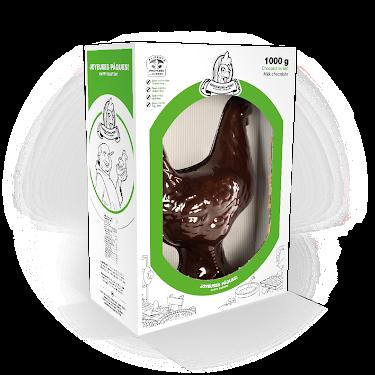 Chocolat Poule 16 pouces Figurines géantes