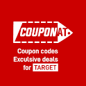 Coupons for Target promo codes, deals by Couponat icon