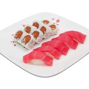 Spicy Tuna Platter Combo