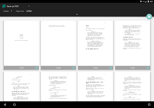 screen writing apps for windows phone