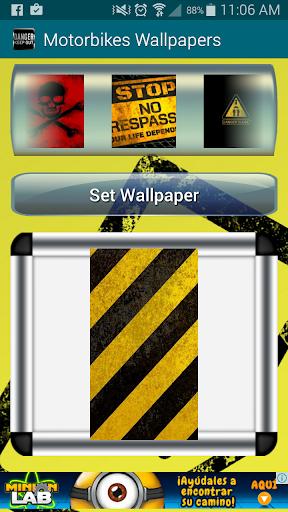 Danger Warning Wallpapers
