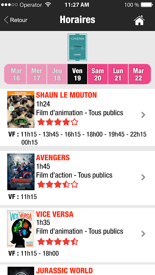 Cinéma 3 Casino Gardanne- screenshot