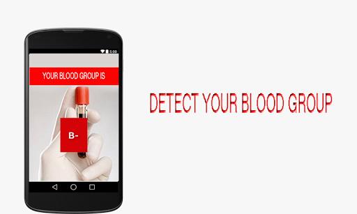 Blood Group Detector Prank