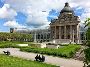 Photo: The royal gardens